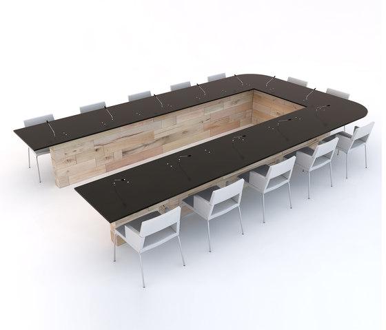 CRAFTWAND® - conference table design von Craftwand | Objekttische