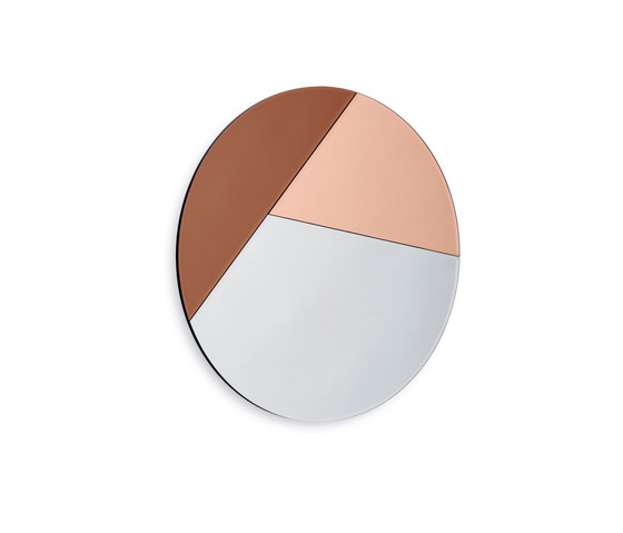 Nouveau 70 silver / vintage rose gold / bronze by Reflections Copenhagen | Mirrors