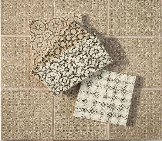 Scraffito Series de Pratt & Larson Ceramics   Baldosas de cerámica