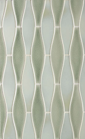 Elongated Shapes von Pratt & Larson Ceramics | Keramik Mosaike
