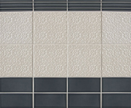 Filigree Series von Pratt & Larson Ceramics   Keramik Fliesen