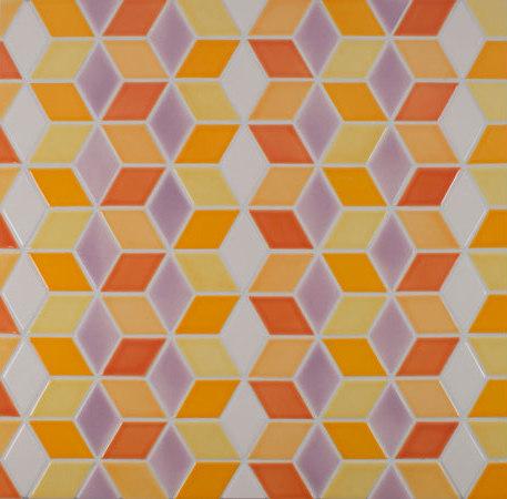 "2"" Diamond Pattern de Pratt & Larson Ceramics | Mosaïques céramique"