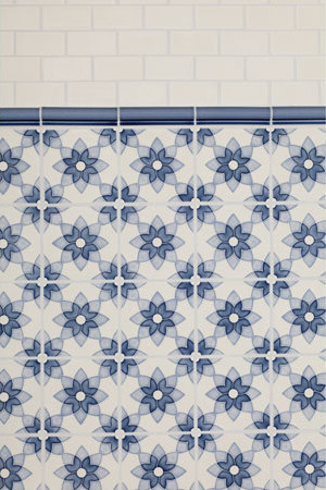 Motif - Blue by Pratt & Larson Ceramics | Ceramic tiles