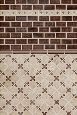 Motif Sepia by Pratt & Larson Ceramics | Ceramic tiles