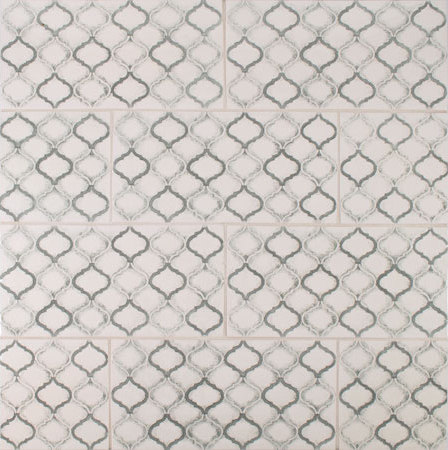 Scraffito Pattern de Pratt & Larson Ceramics | Carrelage céramique