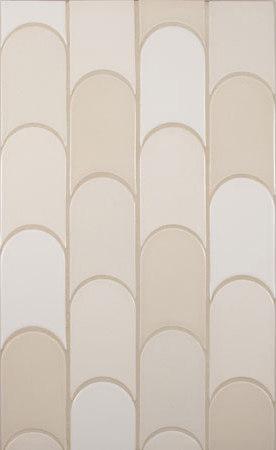 Shapes - Elongated Crescent by Pratt & Larson Ceramics | Ceramic tiles