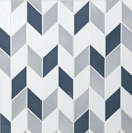Rhomboid de Pratt & Larson Ceramics | Carrelage céramique