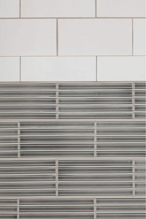 Wall Relief Glazed Ceramic Tile by Pratt & Larson Ceramics | Ceramic tiles