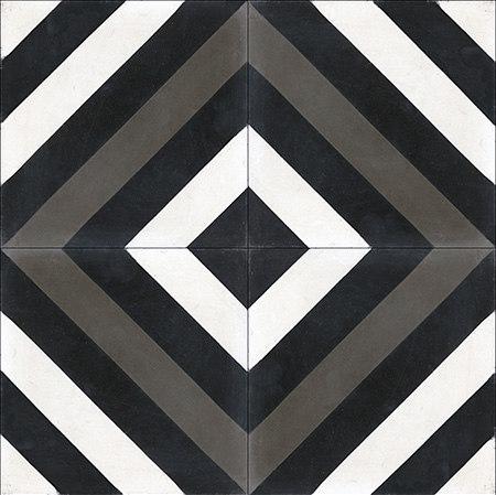 Cement Tile Ligne Brisee di Original Mission Tile | Piastrelle cemento
