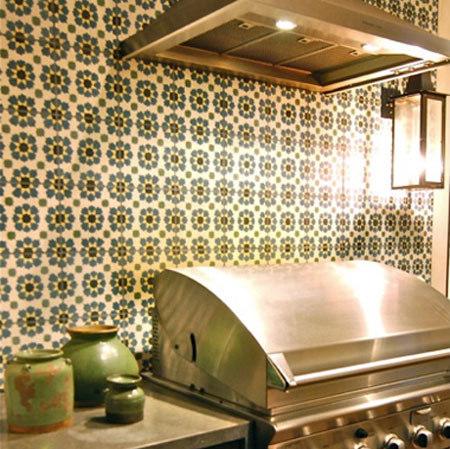 Cement Tile Moorish by Original Mission Tile   Concrete tiles