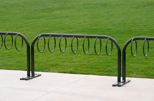 MBR300-7-S Bike Rack by Maglin Site Furniture | Bicycle stands