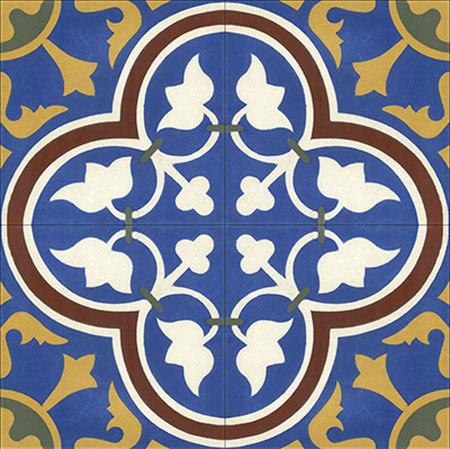 Cement Tile Roseton by Original Mission Tile | Concrete tiles