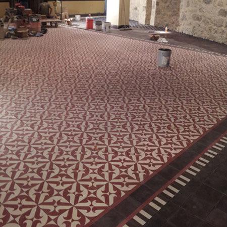 Cement Tile Santander by Original Mission Tile | Concrete tiles