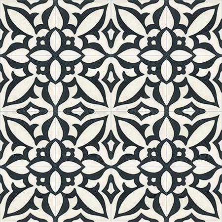 Cement Tile Zebra by Original Mission Tile | Concrete tiles