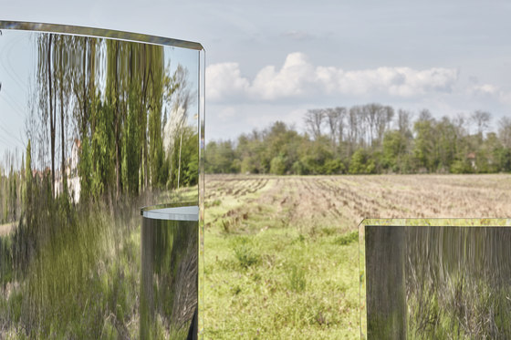 Prism Partition by Glas Italia | Folding screens