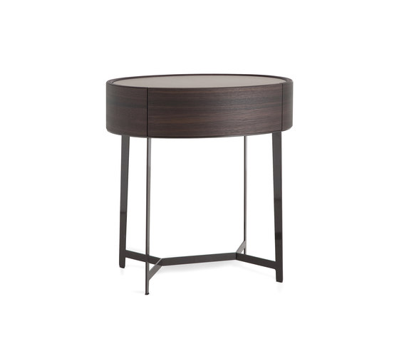 Kelly bedside table de Poliform | Mesas auxiliares