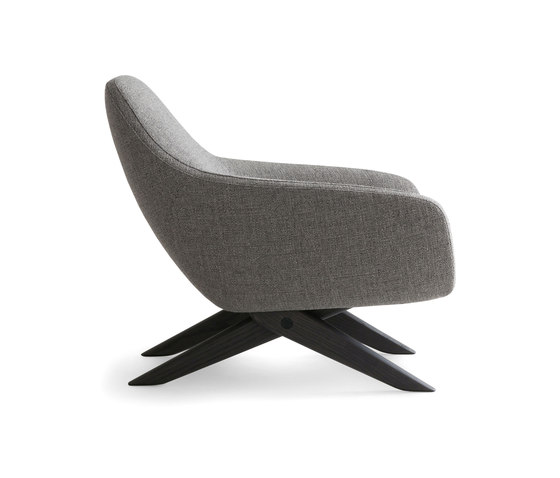Marlon armchair by Poliform | Lounge chairs