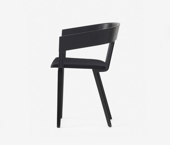Odin Chair Black Upholstered by Resident   Chairs