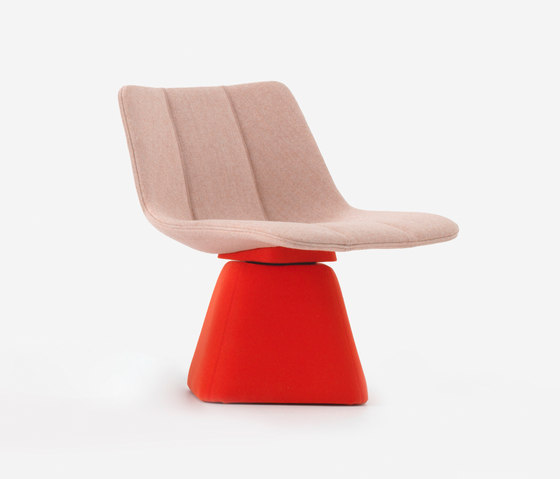 Volley Chair with Swivel Base by Resident | Armchairs