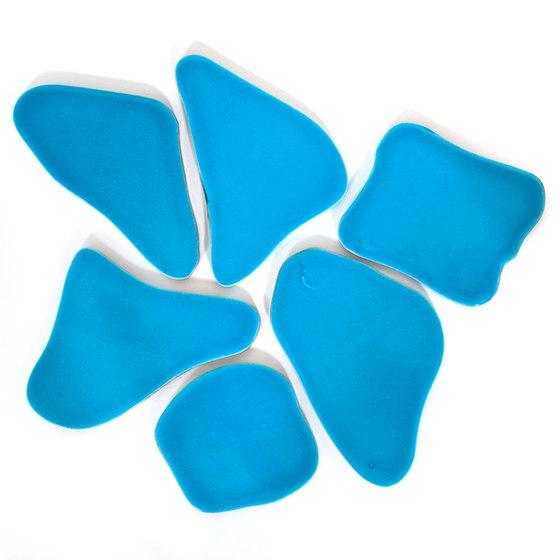 Serie Selciato PO azzurro di La Riggiola | Mosaici ceramica