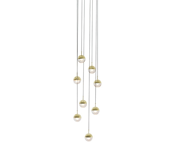 Dora P8 Pendant Lamp de SEEDDESIGN | Suspensions