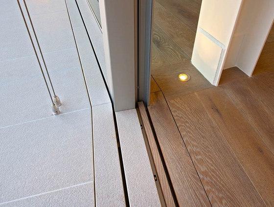 TH+ Seuil invisible de Vitrocsa | Portes-fenêtres