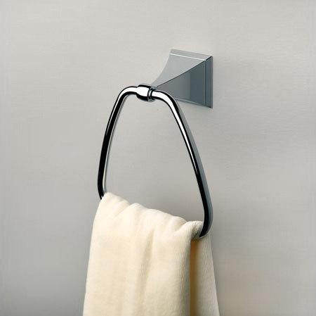 Cayden Towel Ring by Ginger | Towel rails
