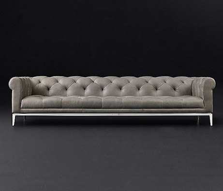 Italia Chesterfield Leather Sofa By RH Contract | Lounge Sofas