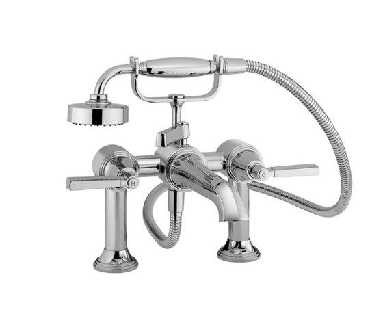 Style Moderne Deck mounted bath shower mixer - V6K30M by Samuel Heath | Bath taps