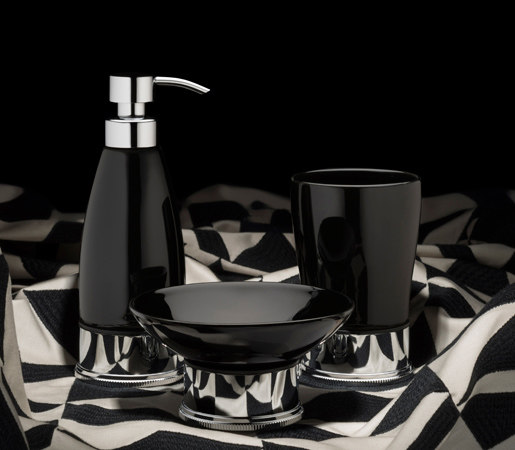 Style Moderne freestanding accessories by Samuel Heath | Soap dispensers