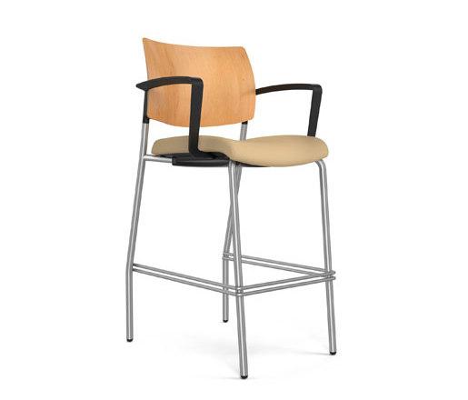 Focus   Side de SitOnIt Seating   Sillas de trabajo altas