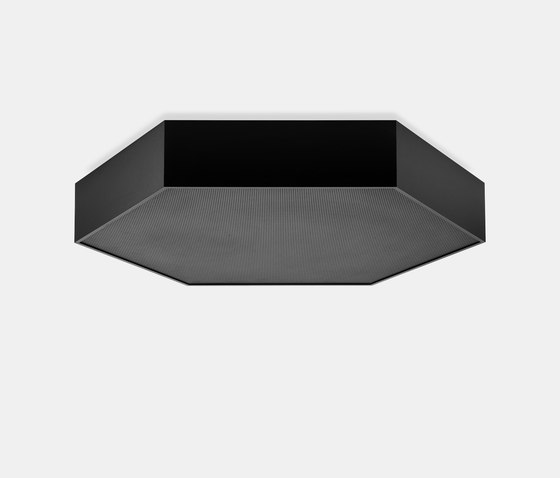 HEX-O ceiling with acoustic plate de XAL | Plafonniers