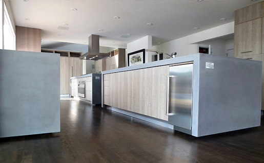 Waterfall Islands Island Kitchens From Trueform Concrete