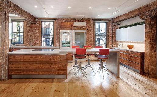 Industrial chic cucine parete trueform concrete architonic - Cucine concreta ...