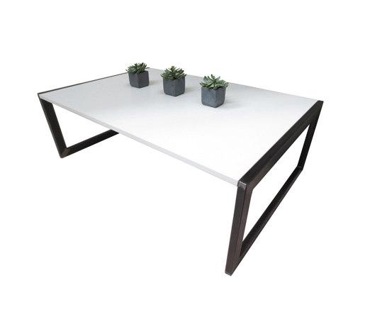 Zen Concrete Coffee Table Lounge Tables From Trueform Concrete Architonic