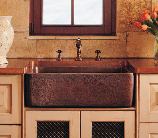 COPPER FARMHOUSE SINK - Kitchen sinks from Stone Forest ...