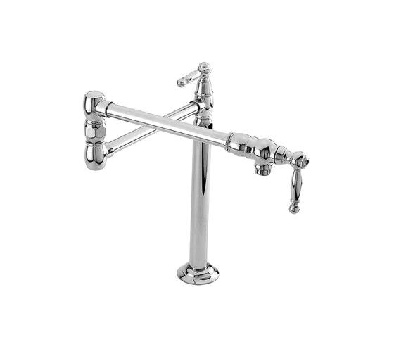 Chesterfield Series - Pot Filler - Deck Mount 9484 by Newport Brass | Kitchen taps