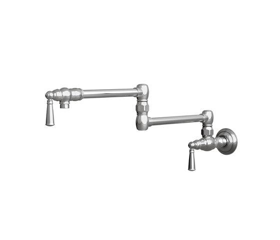 Jacobean Series - Pot Filler - Wall Mount 2470-5503 by Newport Brass | Kitchen taps