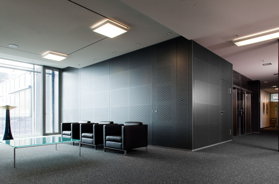 HALL low by INTEK | Sound absorbing wall systems