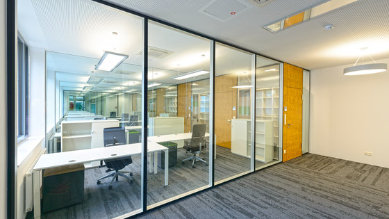 Structural Glazing by INTEK | Sound absorbing architectural systems