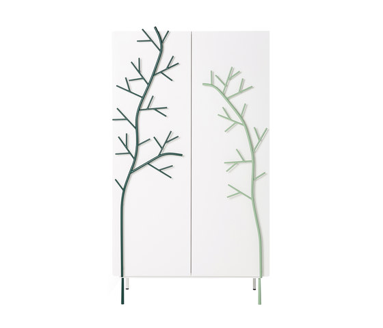 Rami | two-door wardrobe de Skitsch by Hub Design | Armoires