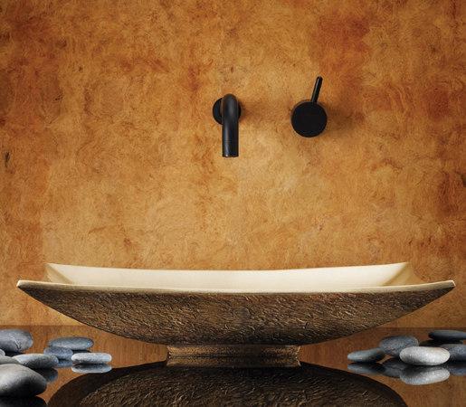 Zen Vessel Sink, Golden Bronze by Stone Forest | Wash basins