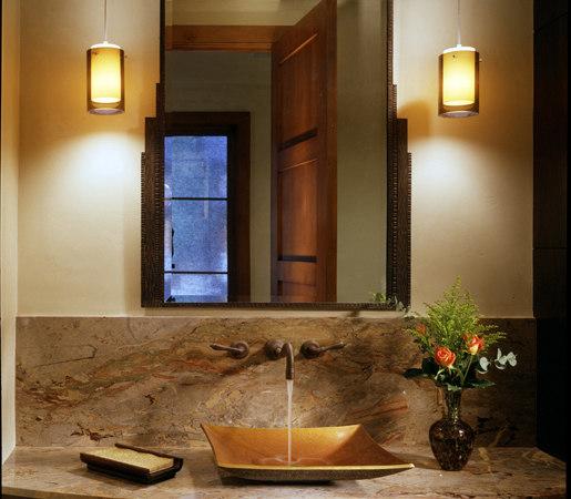 Zen Vessel Sink, Weathered Bronze by Stone Forest   Wash basins