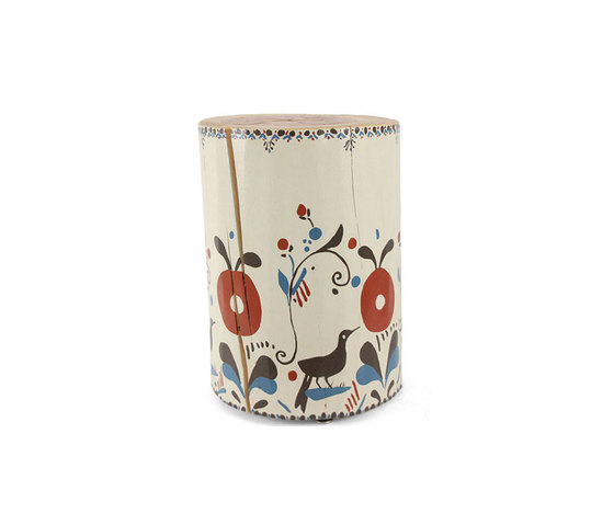 Pajarito Hand Painted Table de Pfeifer Studio | Tables d'appoint