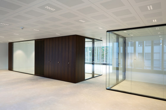 TTS wall by INTEK | Sound absorbing architectural systems