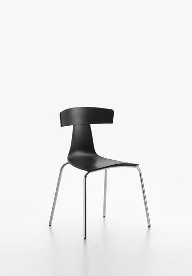 Remo Plastic Stuhl black von Plank | Stühle