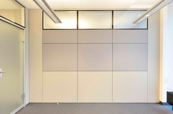 MFT wall by INTEK | Sound absorbing architectural systems