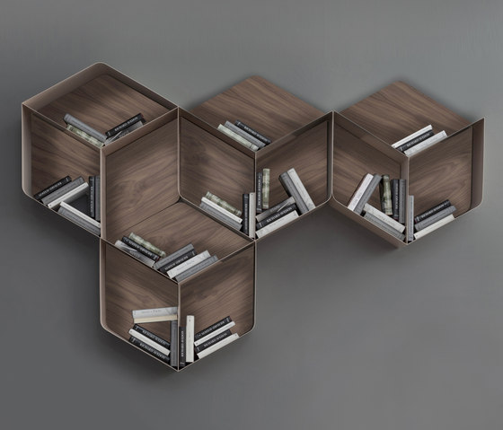 Pangea by Tonin Casa | Wall shelves