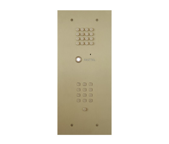 Intercoms by FASTTEL BELGIUM | Door bells