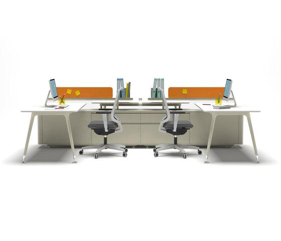 U too Double Desk von Nurus | Schreibtische